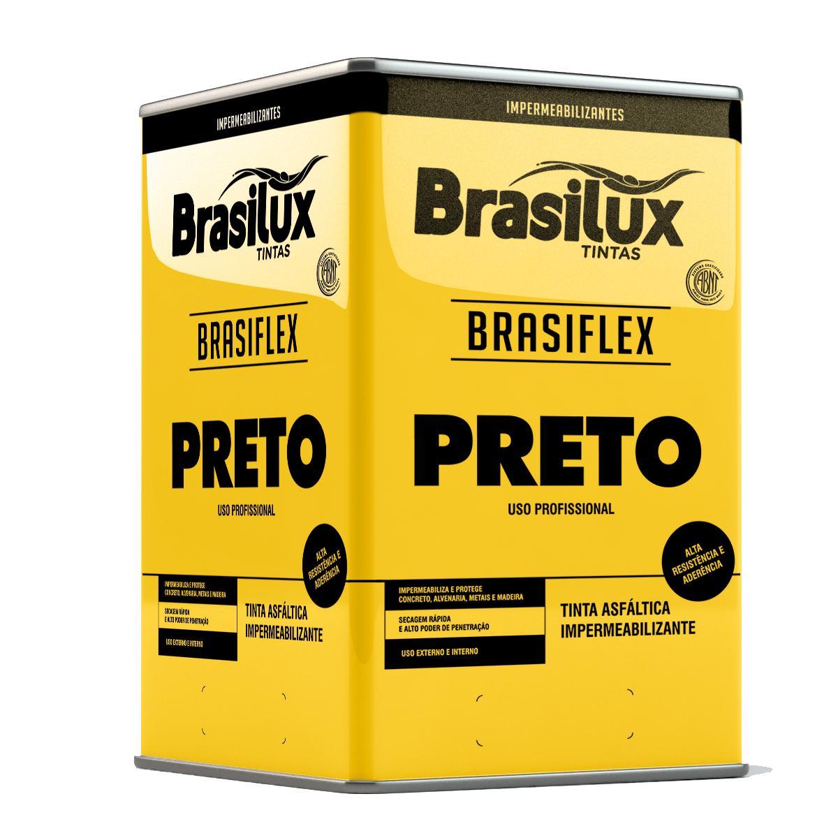 BRASIFLEX PRETO IMPERMEABILIZANTE ASFÁLTICO