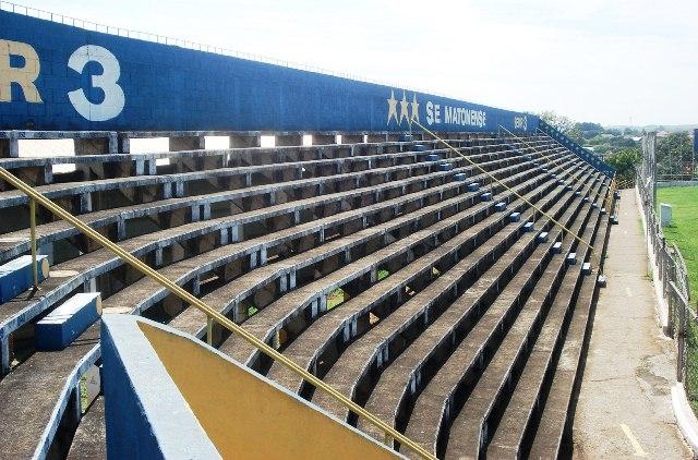 Estádio Hudson Buck Ferreira, casa da Matonense, ganhará melhorias com o apoio da Brasilux