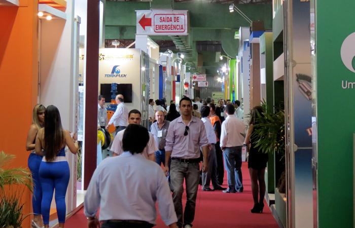 Empresa apresenta novos produtos na feira