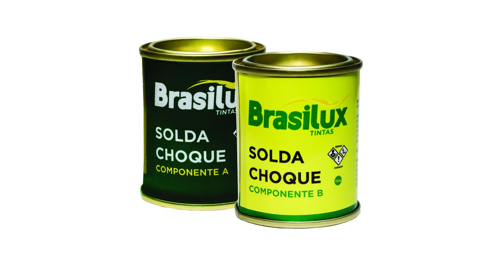Adesivo Solda Choque